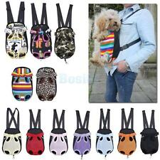 Pet Dog Cat Tote Carrier Backpack Chest Bag for Outdoor Travel 11 Colors 4 Sizes