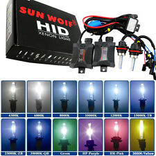55W Dual Beam HID Bi-Xenon Hi/Lo Headlight Conversion Kit H4 H13 9004 9007 Hot