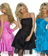 Mini Dress Party Cocktail Boho Prom Spaghetti Straps Bandeau
