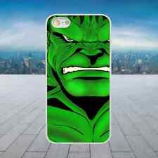 THE GREEN HULK White Hard Phone Case Cover Fits Iphone Models