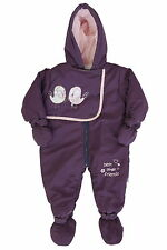 Nursery Time Birdy Friends Snow Suit - Lilac