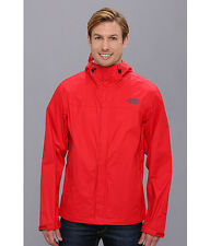 NWT North Face Mens' red Venture Rain Jacket Large