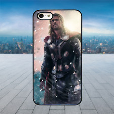 THOR GOD AVENGERS Black Rubber Phone Case Cover Fits Iphone Models