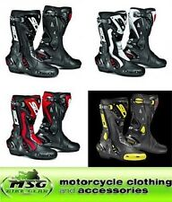 SIDI ST LEATHER SPORTS MOTORCYCLE BOOTS ALL COLOURS & SIZES