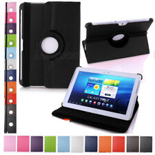 360 Rotating Leather Smart Case Cover Stand For Samsung Galaxy Tab Amazon HD US
