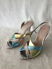 Jean Michel Cazabat Women's Heels New Retail $280 Sizes 7.5 8 US