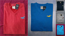 NWT Hollister Hidden Hills Tee T Shirt Mens Muscle Fit V Neckline By Abercrombie
