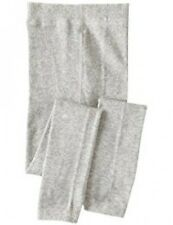 Girls NEW Pamela Mann Footless Tights 9-11y Plain Grey Knitted Wintersoft