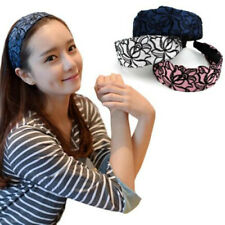 1 Head Band Lace Flower Head Piece Jewelry Band Bridal Fashion Hair Accessory