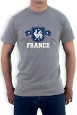 FRANCE Flag Crest T-Shirt National Team  Vive Soccer Vintage World Cup 2015