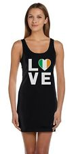 I Love Ireland - Irish Pride Flag of Ireland Gift Idea Tunic Dress Novelty Gift