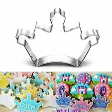 Crown Love Biscuit Cake Decoration Stainless Steel Cookie Cutter Baking Mold
