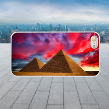 COOL PYRAMIDS White Hard Phone Case Cover Fits Iphone Models