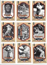 2012 PANINI COOPERSTOWN HALL OF FAME  HOF - #'S  51-100   WHO DO YOU NEED!!1