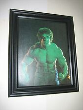 Incredible Hulk Pin-up FRAMED # 1 Lou Ferrigno Marvel TV Series Avengers