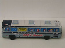 RARE-Greyhound(International)Scenicruiser Tin Friction Toy Bus Japan 1960s-#49