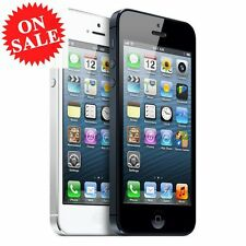 Apple iPhone 5 4s- 16 32 64GB GSM Factory Unlocked Smartphone Gold Gray Silver