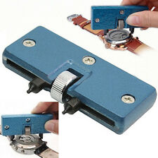 New Watch Repair Tool Cover Remover Back Case Opener Screw Wrench Kit Adjustable