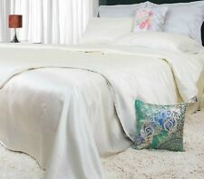 100% Silk Bedding Set Duvet Cover+Fitted Sheet+2*Pillowcases 16m/m Twin-Cal-King