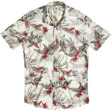 Quiksilver Everyday Mens Shirt Short Sleeve - Surfside Golden Print All Sizes