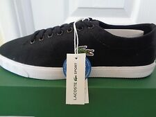 Lacoste Sport Marcel LCR2 SPM mens black shoes trainers sneakers NEW+BOX