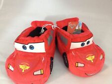 boys Disney Cars red slippers small 5/6 or Large 9/10, red Disney Pixar cars