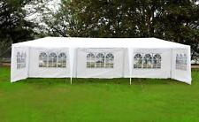 10'x30' White Canopy Heavy duty Party Outdoor Gazebo Wedding Tent Removable Wall