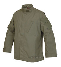 Military Tactical Response Uniform Shirt by TRU-SPEC - OLIVE DRAB - LARGE REG