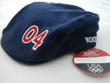 COLLECTORS Official 2004 Roots Olympic Cap NWT Blue Unisex Adult SML/MED