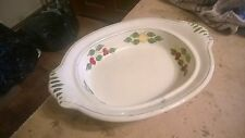 Adams Titian Ware Dish 11 Inches Long Hand Painted No673892