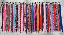 Colourful novelty Long Shoe Laces. Sold in 3 pairs each lot.