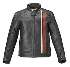 Mens Triumph Raven 2 Leather Motorcycle Jacket