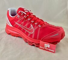 NEW Men's Nike Air Max+ 2009 Running Shoes Action Red White 486978-600 OSU c1