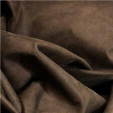 "Brown Suedette 60"" wide Polyester Suede Dress Fabric 150cm wide sold the metre"