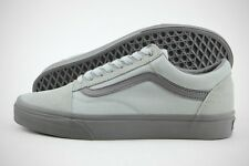 Vans Old Skool (C&D) VN0A38G1MOM High-Rise Pewter Canvas Suede Shoes (D, M) Men