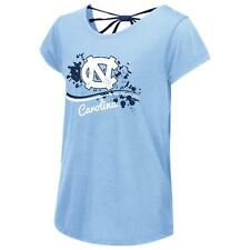 North Carolina Tarheels UNC Youth Girls Bow Back Short Sleeve Tee