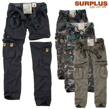 Surplus Woman Women Pants Trekking Premium Cargo Outdoor Camo Size 34 to 42