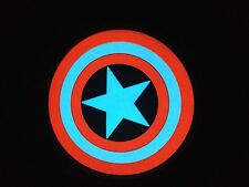 Captain America Sound-Activated LIGHTS UP LED Design T-Shirt ALL SIZES