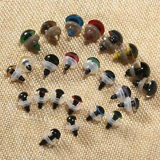 10Pc 8/10/12mm 8 Colors Plastic Safety Eyes Toy Doll Eyes Washers For Teddy Bear