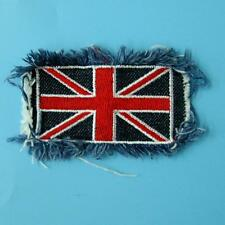 Union Jack Britain Uk Flag Sew on Embroidered Badge Patch Biker Rock England Lot