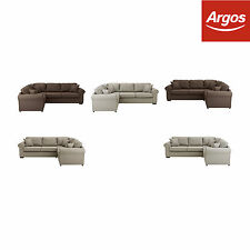 Collection Erinne Fabric Corner Sofa Settee Group - Choice of Type and Colour