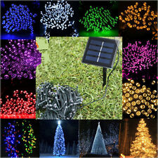 100/200/500LED Solar Powered Fairy Lights String Outdoor Party Christmas Garden#