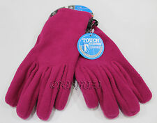 New Womens Columbia Thermarator II Fleece Winter Gloves Touch Screen Compatible