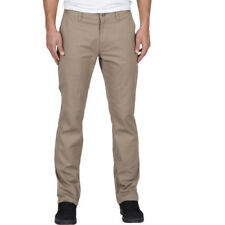 Volcom Frickin Modern Stretch Mens Pants Chino - Khaki All Sizes