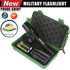 G700 X800 8000 Lumen  Torch Zoomable XML T6 LED Military Tactical Flashlight Set