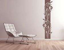 Wall tattoo Wall Banner Banner Living Room Bedroom Floral Flowers Vines pkm61
