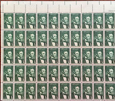 "#1113 – 1959 1c Abraham Lincoln - ""Beardless Lincoln"" Mint Sheet 50"