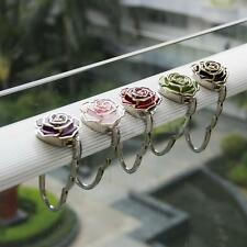 Rose Flower Shape Travel Folding Table Hook Handbag Purse Bag Hanger Holder
