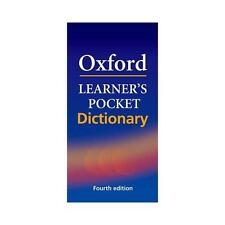 Oxford Learner's Pocket Dictionary: A Pocket-sized Reference to English...