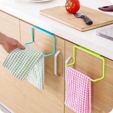 Hot Kitchen Towel Bar Holder Rack Storage Organizer Bathroom Home Hanging Tool